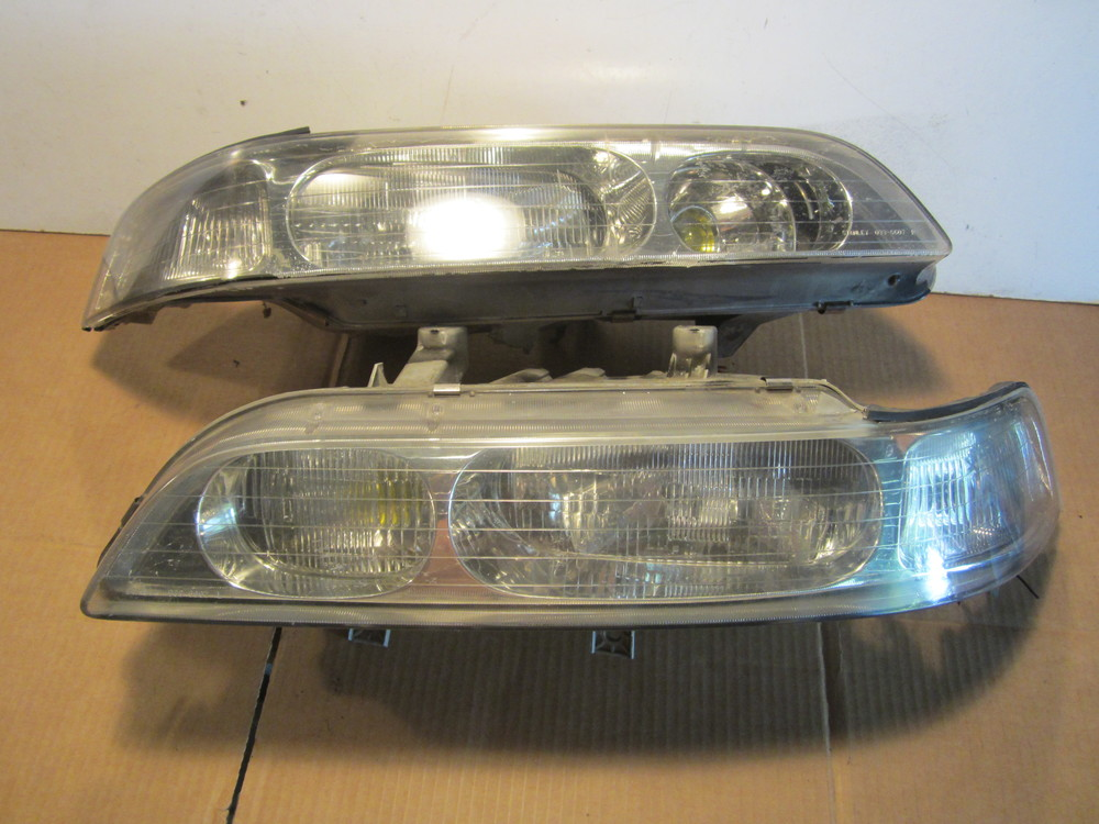 1991 1995 Acura Legend Coupe One Piece Stanley Headlights