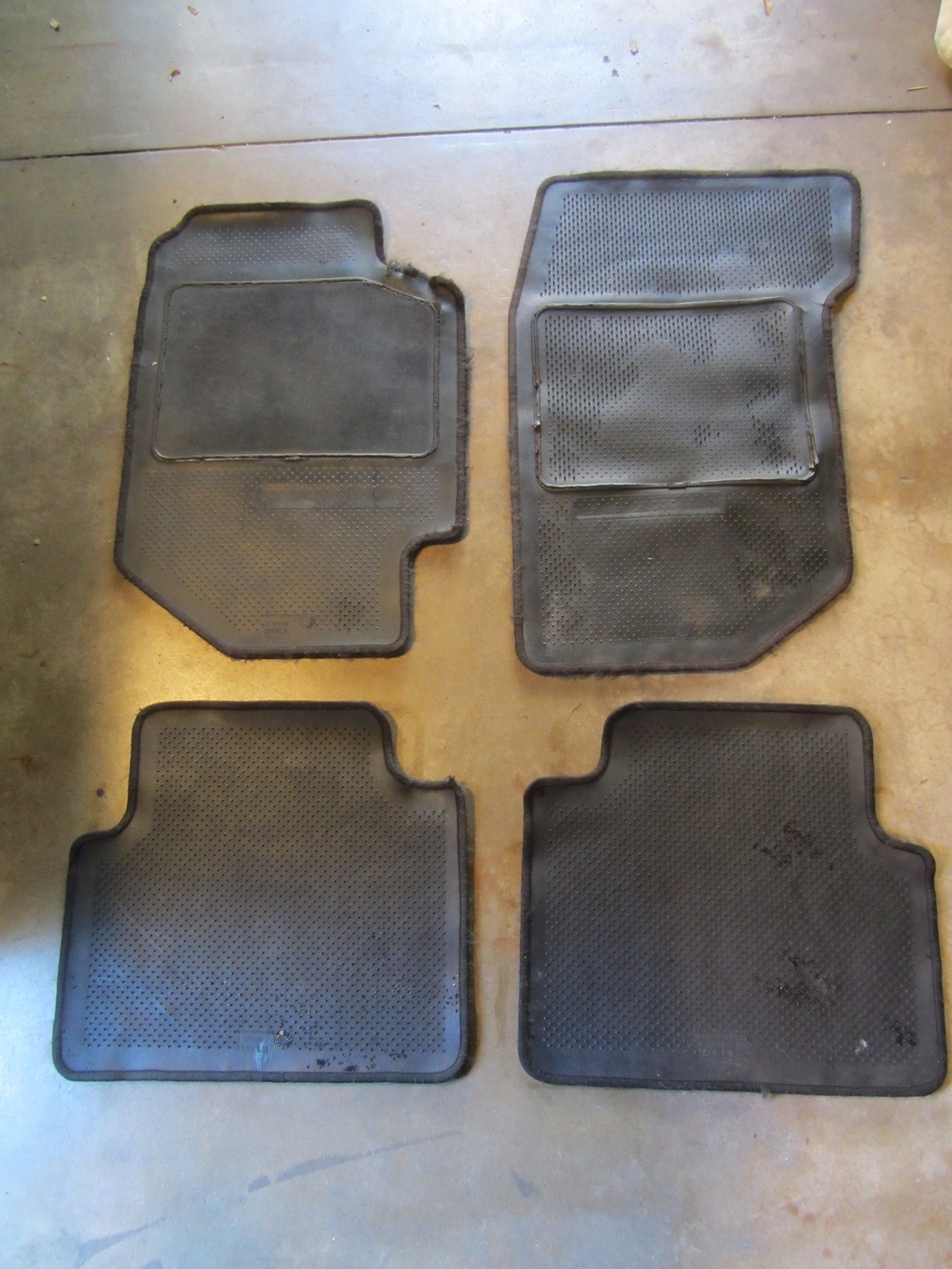 1990 1993 Acura Integra 4 Door Sedan Black Floor Mats