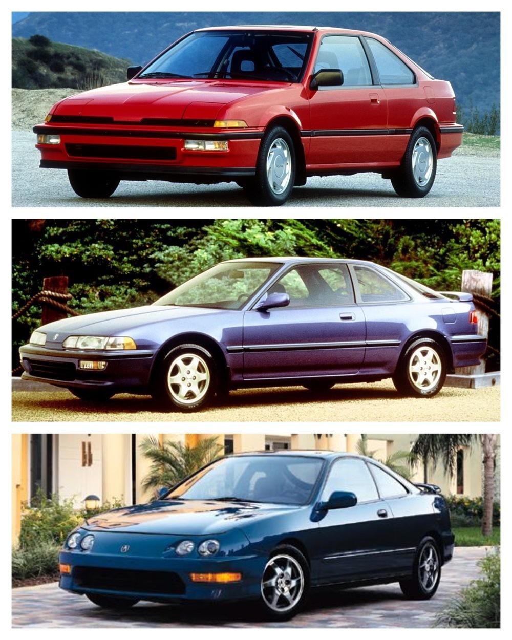 Integra 1986-2001 -