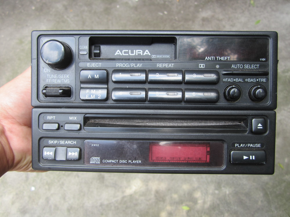 1992 1994 Acura Vigor Factory Cd Cassette Double Din Oem