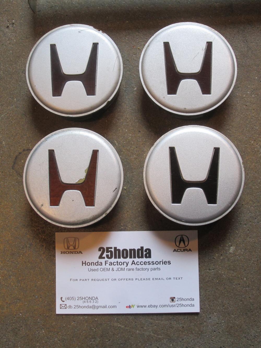 Honda Oem Factory Rim Wheel Center Caps 2 1 4 Inches