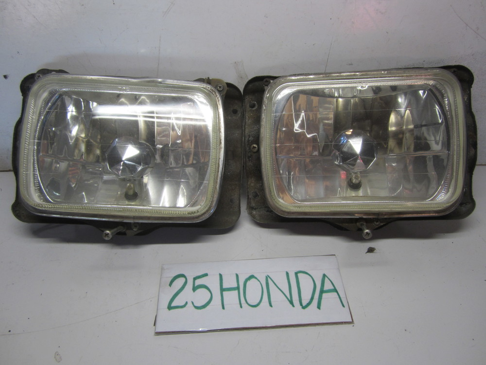 1984 1987 Honda Civic Sedan Recessed Headlight Set Up