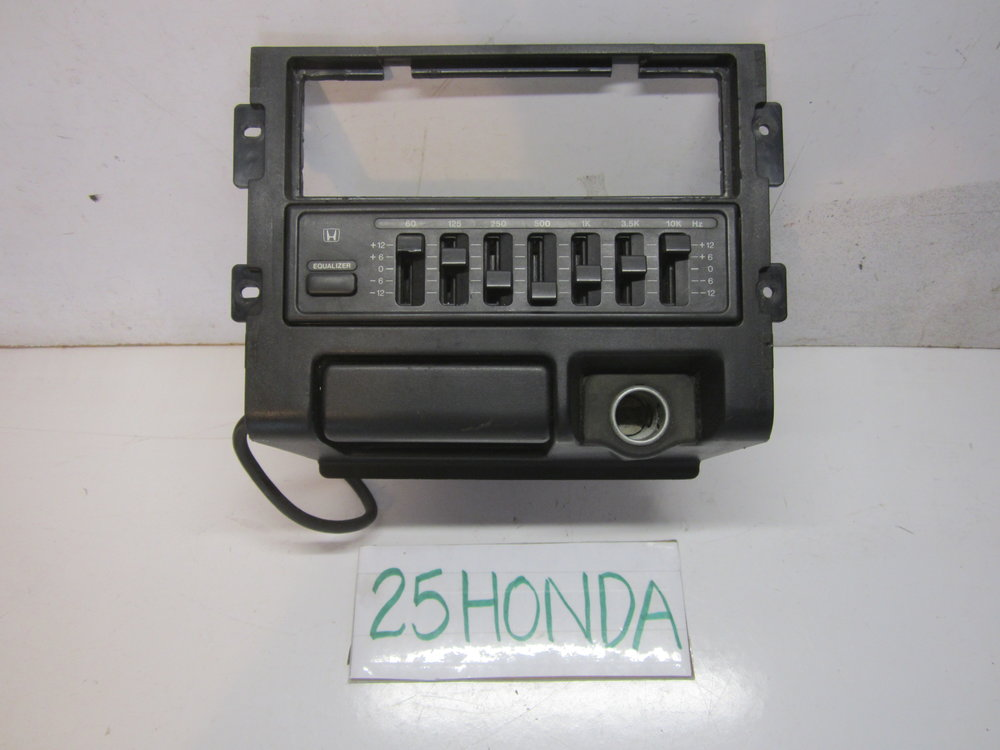 1988 1991 Honda Crx Double Din Radio Console Equalizer