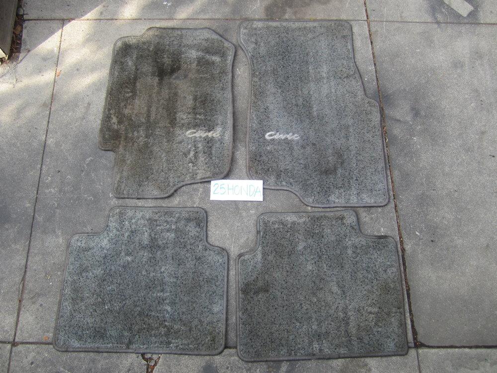 1992 1995 honda civic sedan oem optional floor mats 25honda for 1992 honda accord floor mats