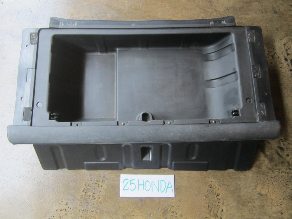 1984 1987 Honda Crx Si Rear Cargo Box Black