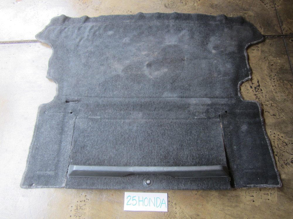 1984 1987 Honda Crx Si Rear Carpet Box Cover Amp Lock
