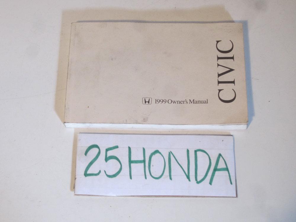 1998 honda civic coupe factory owner s manual oem 25hondalouver rh 25honda com 1998 honda civic service manual pdf 1998 honda civic service manual pdf