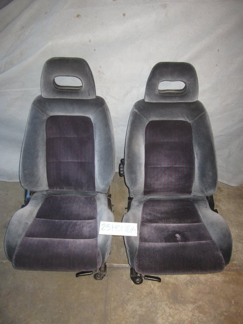 Acura Integra GSR Factory Original Front Seats - Acura integra seats