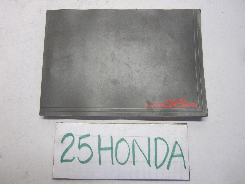 1992 acura vigor gs ls factory owner s manual oem 25hondalouver rh 25honda com 1992 acura legend repair manual 1995 Acura Vigor