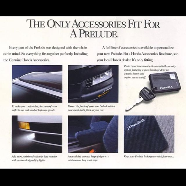 4th Generation Prelude factory accessories fog lights, floor mats, armrest, posted on 25honda.com offers accepted thru email  #honda #hondaprelude #prelude #preludesi #4thgenprelude #preludelife #preludelove #hondalove #hondalife #preludepower #preludenation #preludecommunity #prelude4wd #bb4 #bb7 #h22 #vtec #vtecnation #vtecprelude #preludevtec #vintagehonda #teamprelude #hondaaccord #cbaccord