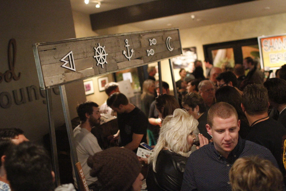 The event sold out and the line snaked through the building. We were slammed all night (and loving ever second of it!)