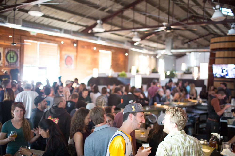 The crowd was vast, the beer's were flowing and our second tap takeover was smooth like a baby's bottom.