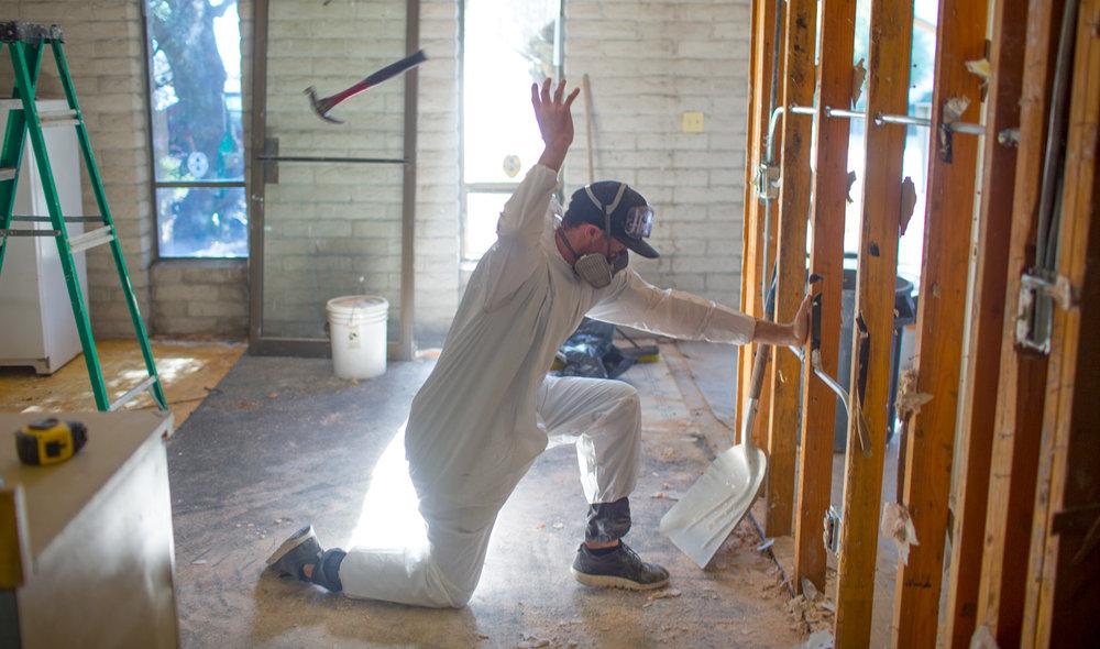 Frank Scott Krueger just killing it in construction.