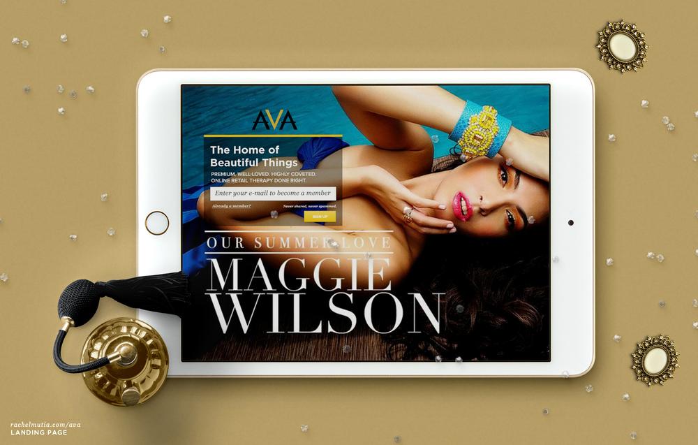 AVA - Maggie Wilson by Rachel Mutia