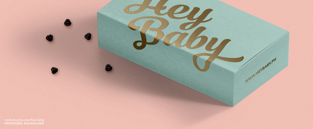 Hey Baby Proposed Packaging by Rachel Mutia