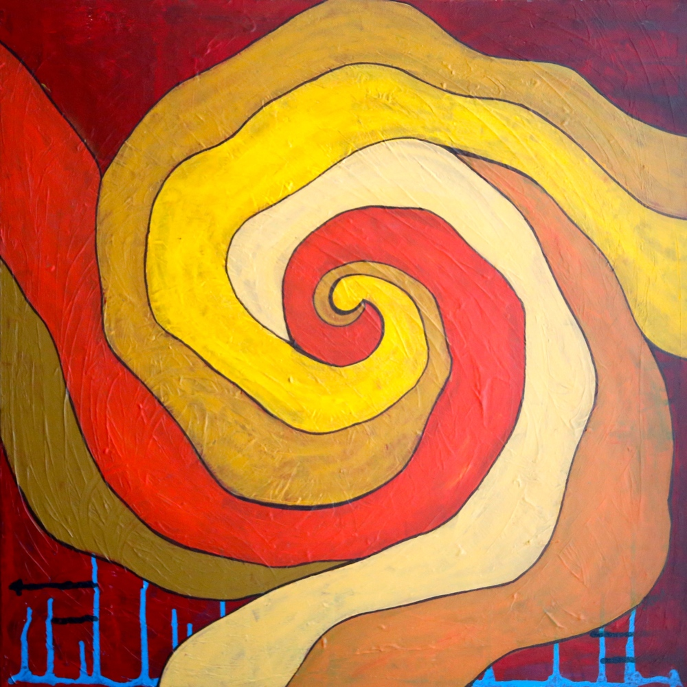 Focus_24X24_Acrylic on Canvas