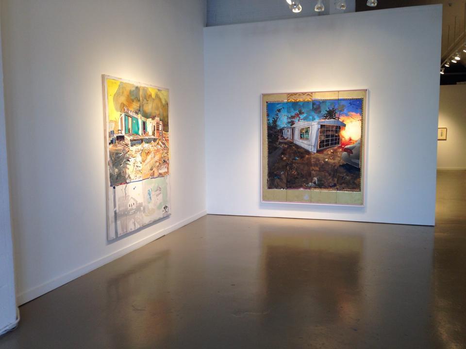 The Joplin Paintings at The Leedy-Voulkos Art Center