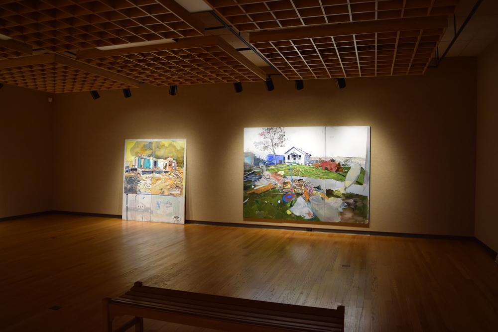 Grandma Ruby's and Grandma D's at P.E.O. Foundation Gallery, Cottey College in Nevada,MO