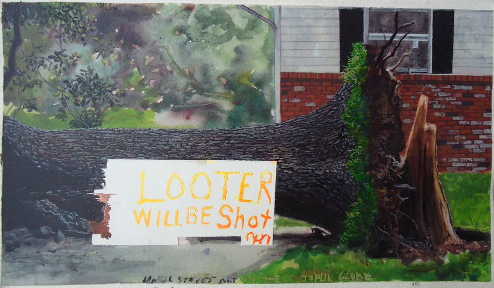 Looters Will Be Shot