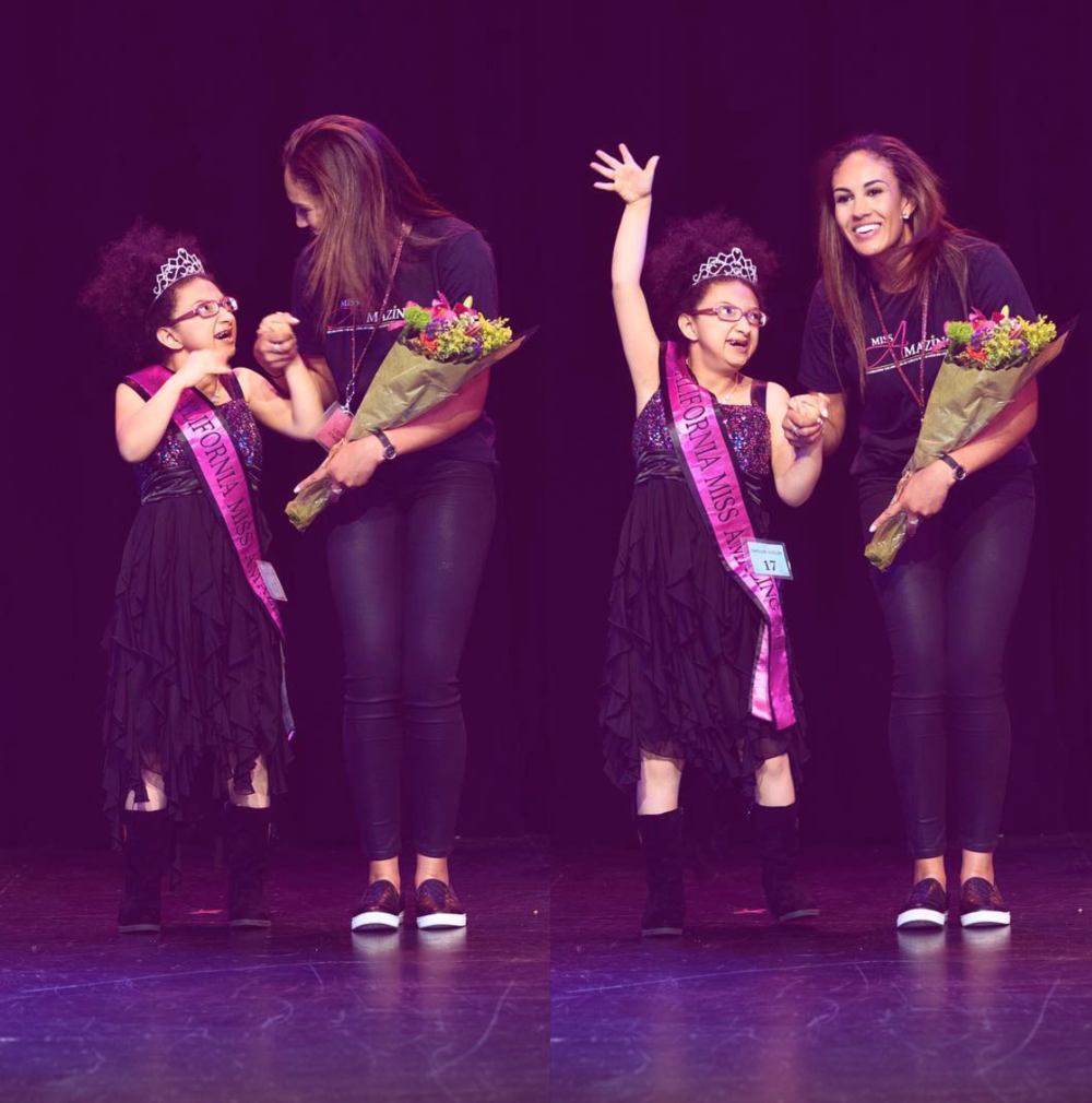 It is my mission to leave this world better than how it was when I was brought into it. My volunteer work with California Miss Amazing is one way I can do just that.