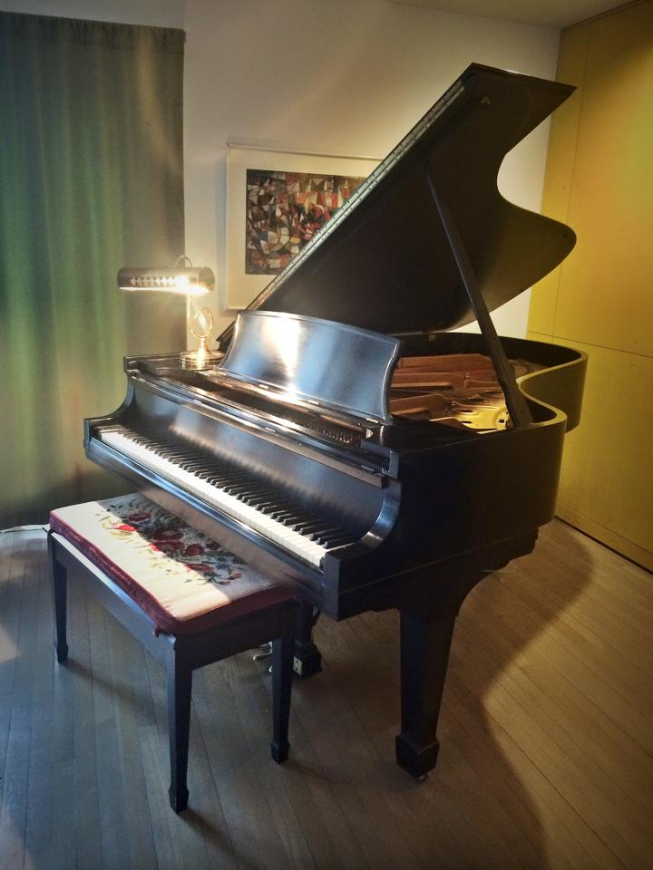 Our 1969 Steinway Model B, what a treasure...