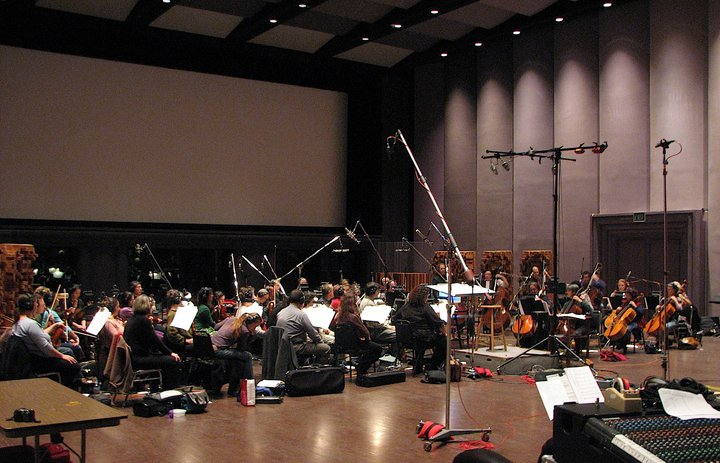 The Skywalker Symphony for Dead Space at Skywalker Studios, CA