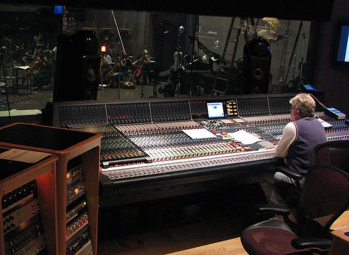 Leslie Ann Jones at the helm at Skywalker Studios