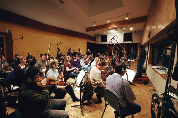 The Northwest Sinfonia at London Bridge Studios for TERA