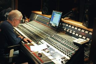 Reed Rudy at the helm for the TERA sessions at London Bridge, Seattle