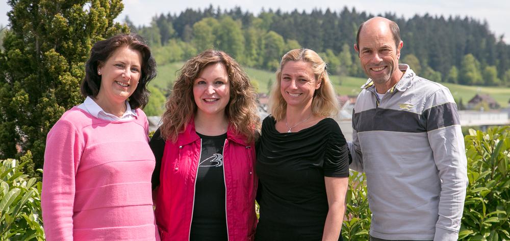 Vorstand von links: Miranda Bammert, Mirella Millwater, Victoria Hansson, Markus Bammert