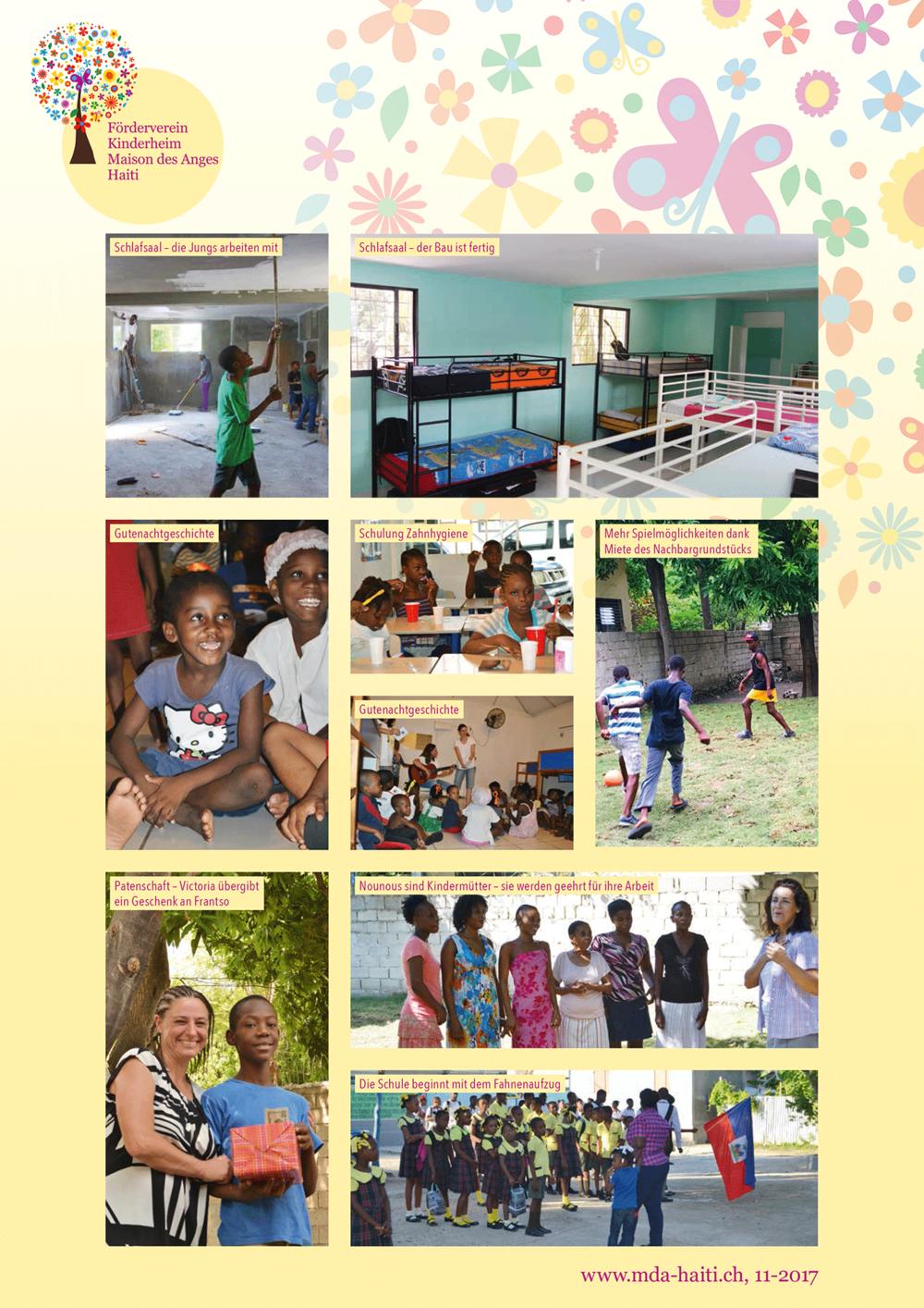 Bilderbogen Herbstreise 2017 Förderverein Maison des Anges nach Haiti