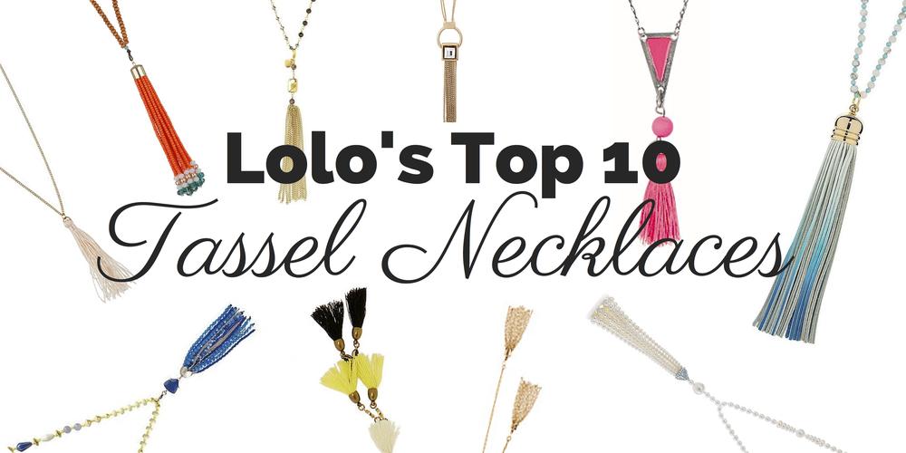 Lolo's Top Tassel Necklaces | LoloLovett.com