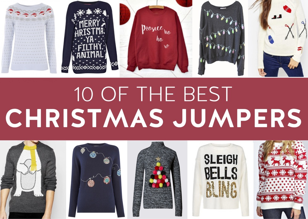 10 of the Best Christmas Jumpers | LoloLovett.com