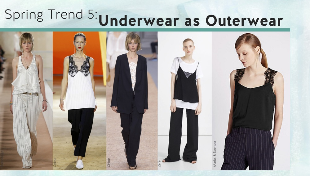 Please remember - when wearing underwear as outwear, you still need underwear underneath!