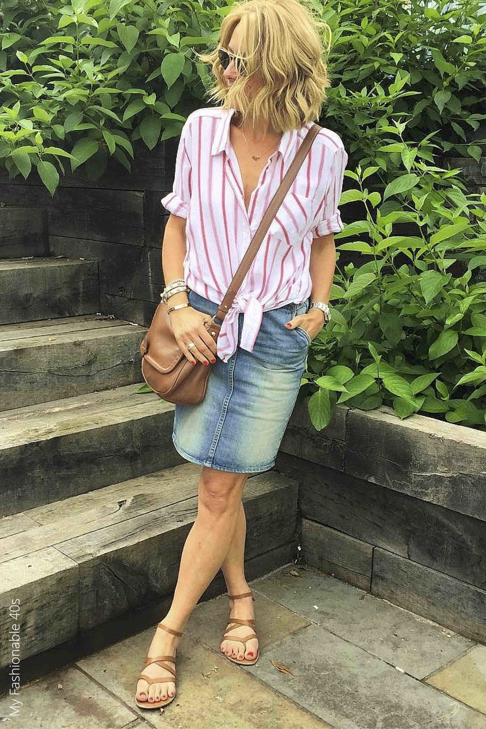 Knotted tops in your 40s | LoloLovett.com