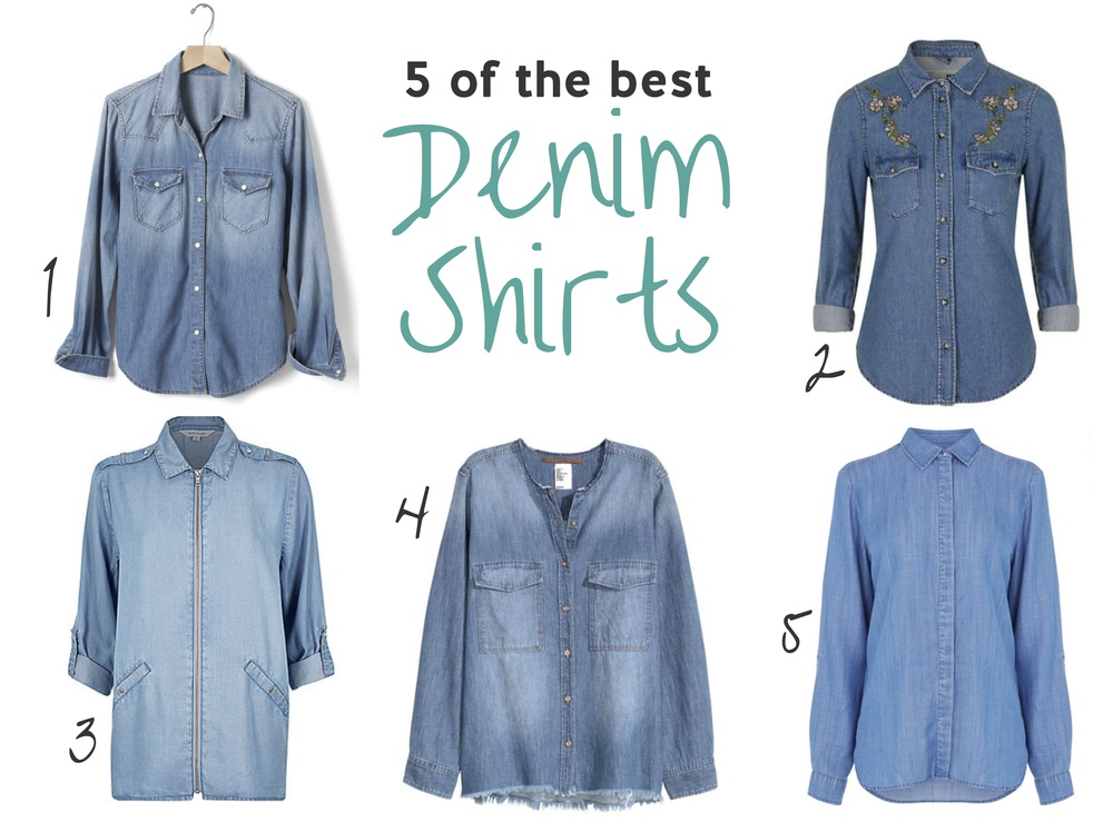5 of the Best: Denim Shirts | LoloLovett.com