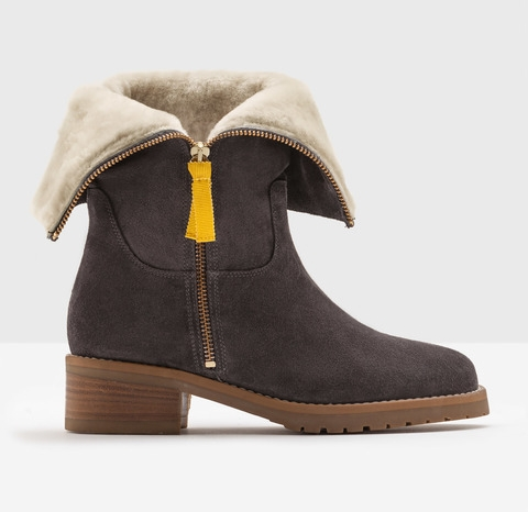 Boden fold-over sherpa boots, £160