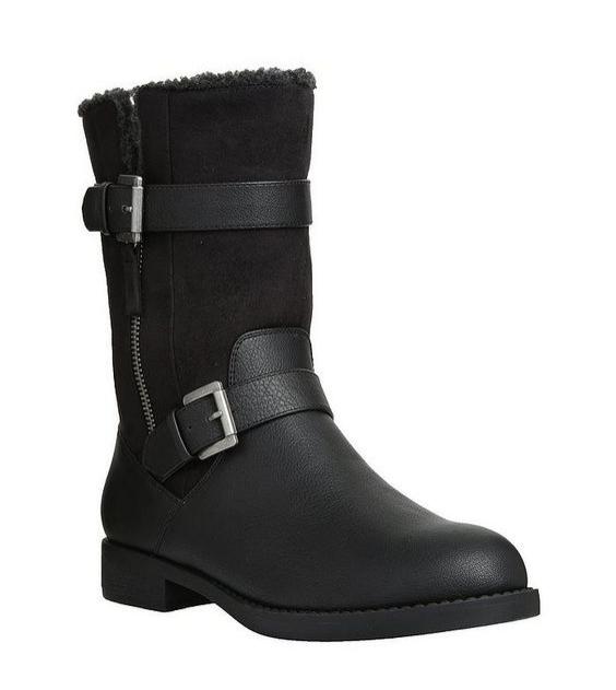 F&F biker boots, £28