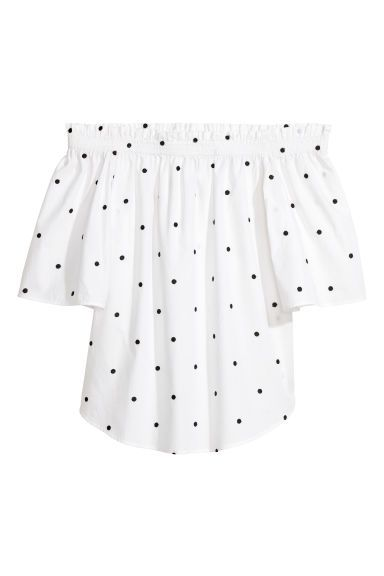 Bardot top, H&M, £17.99