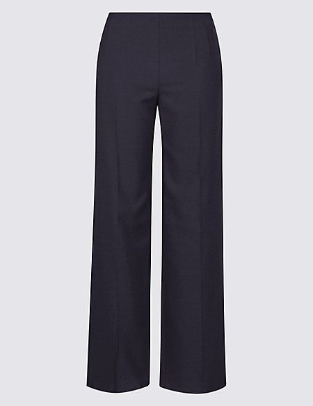 Wide leg trousers, M&S, £15