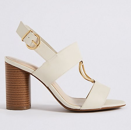 The stylish (and comfortable) sandal. M&S, £39.50