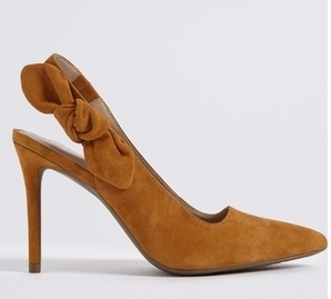 The go-with-everything stiletto. M&S, £49.50
