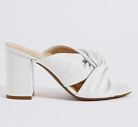 The must-have mules. M&S, £35