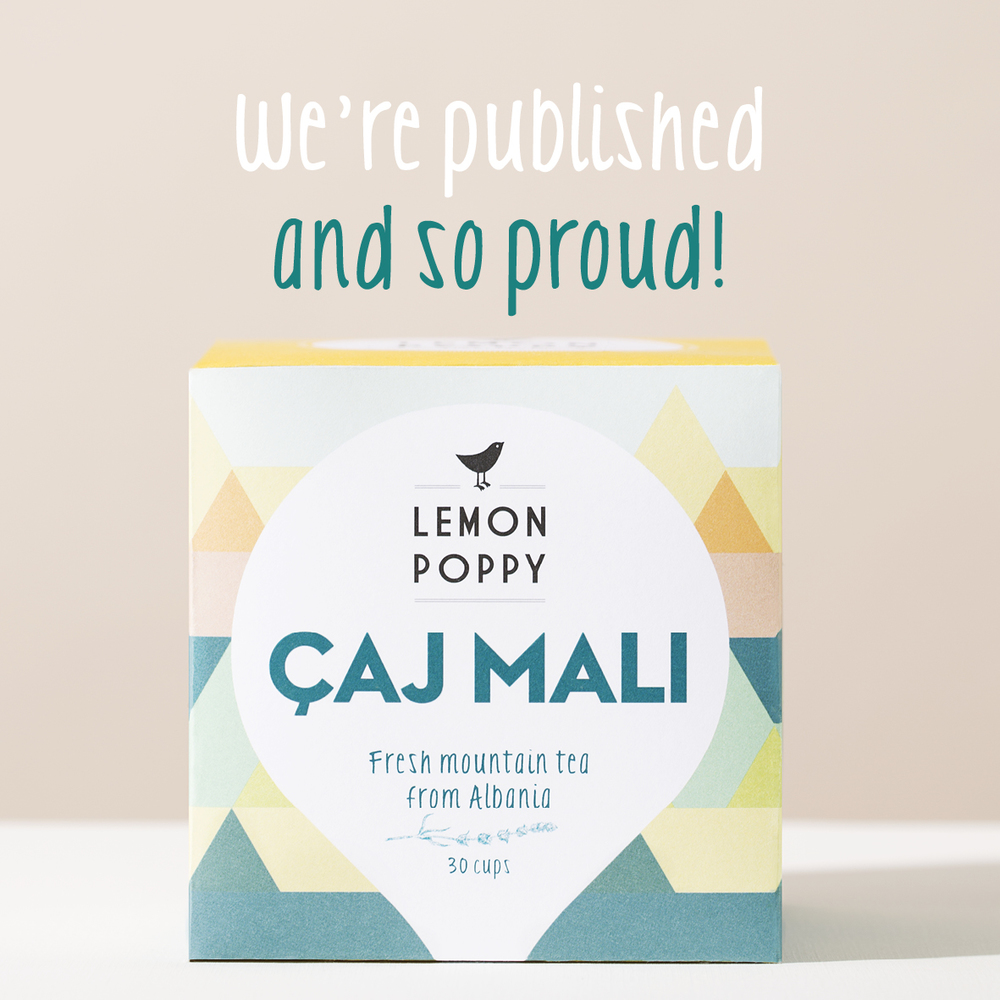 Lemon Poppy thee tea amsterdam Holland Caj Mali albanie thee webshop shop online