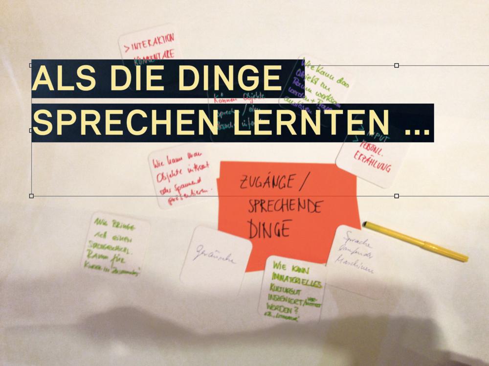 Workshop Gestaltung & Szenografie im  Stadtmuseum Werne