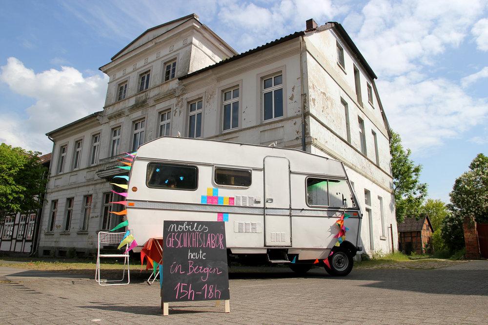Mobiles Geschichtslabor on Tour © Julia Klauer