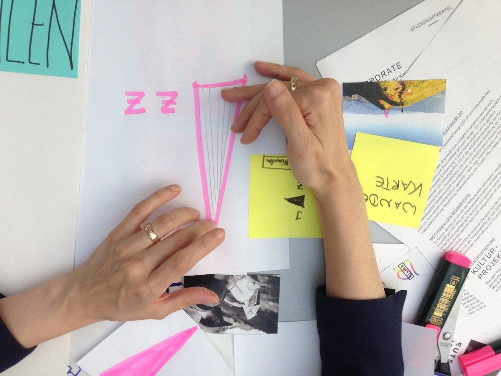 Wie entsteht ein Corporate Design für ein Kulturprojekt?