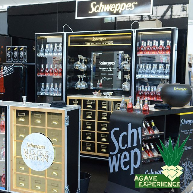 Schweppes corner at Agave Experience.