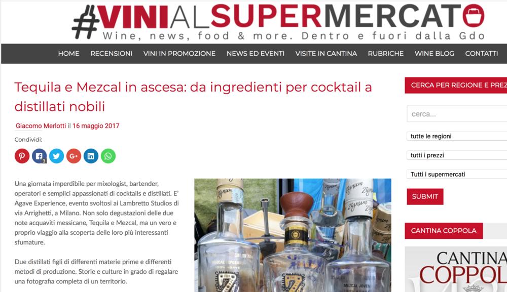 VINI AL SUPERMERCATO -