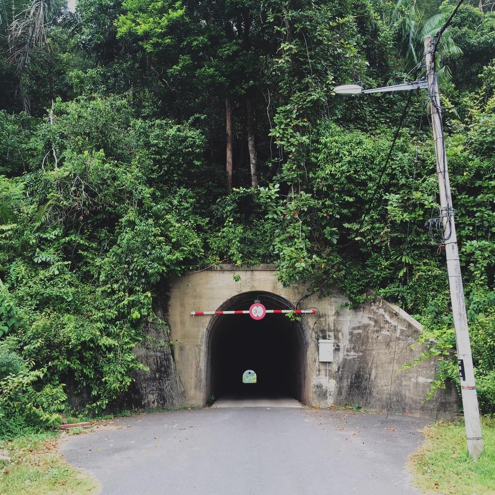 Bukit Tebok, a former railway line where that took return trips between Bukit Besi and Dungun town.